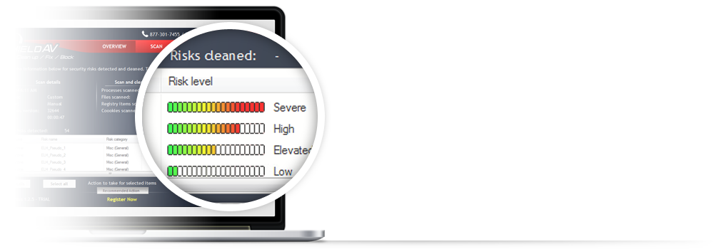 Screenshot af Shield Antivirus