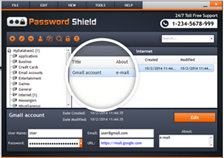 Screenshot af Password Shield