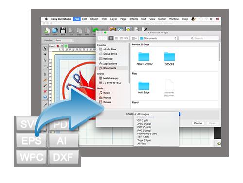 Screenshot af Easy Cut Studio