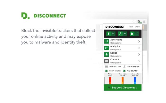 Screenshot af Disconnect
