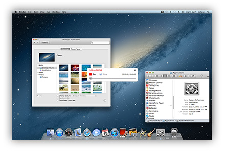 Screenshot af NoMachine til Mac