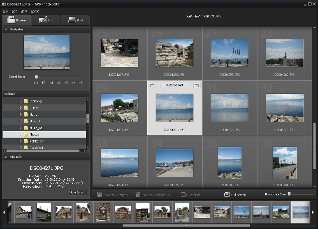 Screenshot af AVS Photo Editor