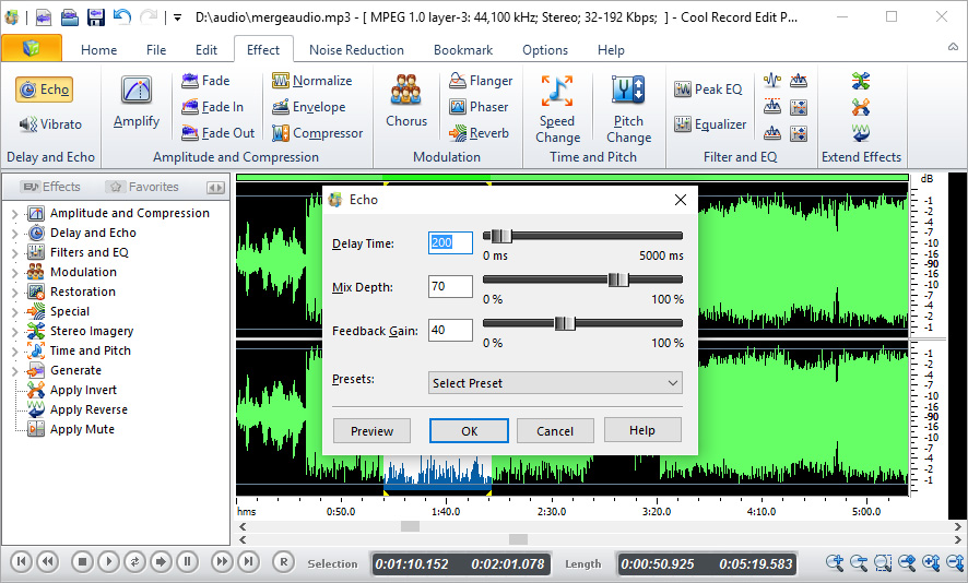 Screenshot af Cool Record Edit Pro
