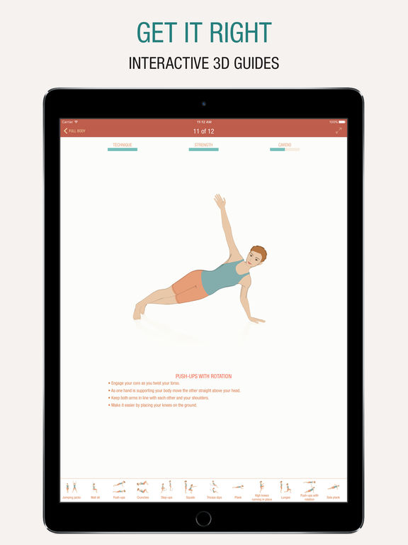 Screenshot af Seven - 7 minute workout