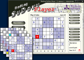 Screenshot af Redleg Sudoku Player