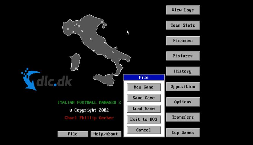 Screenshot af Allenatore