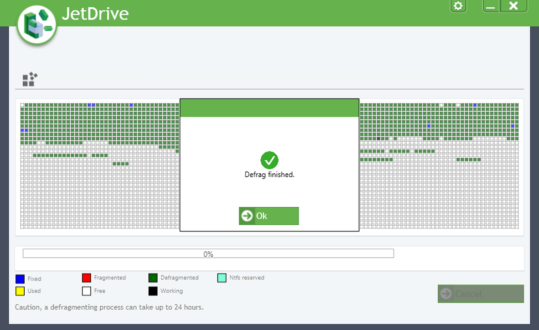 Screenshot af JetDrive