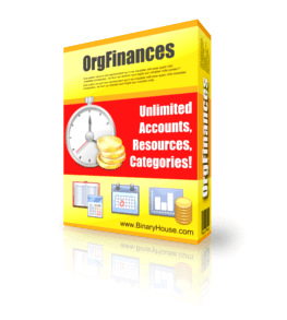 OrgFinances - Boxshot