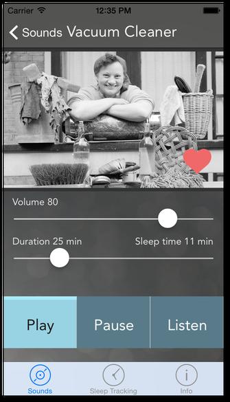 Screenshot af Sound Sleeper