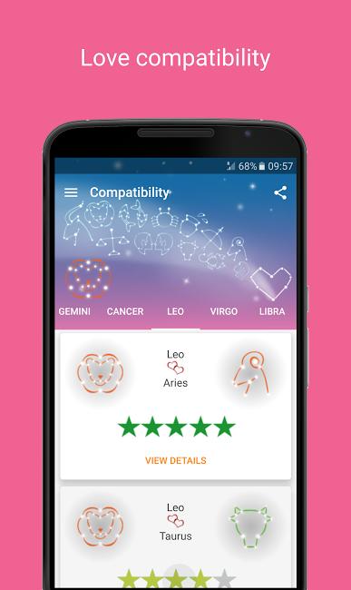 Screenshot af Love Horoscope