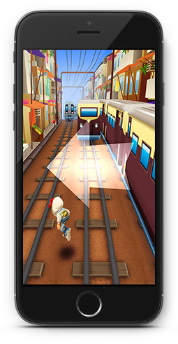 Screenshot af Subway Surfers