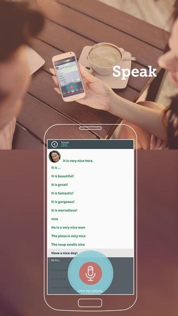 Screenshot af ABA English