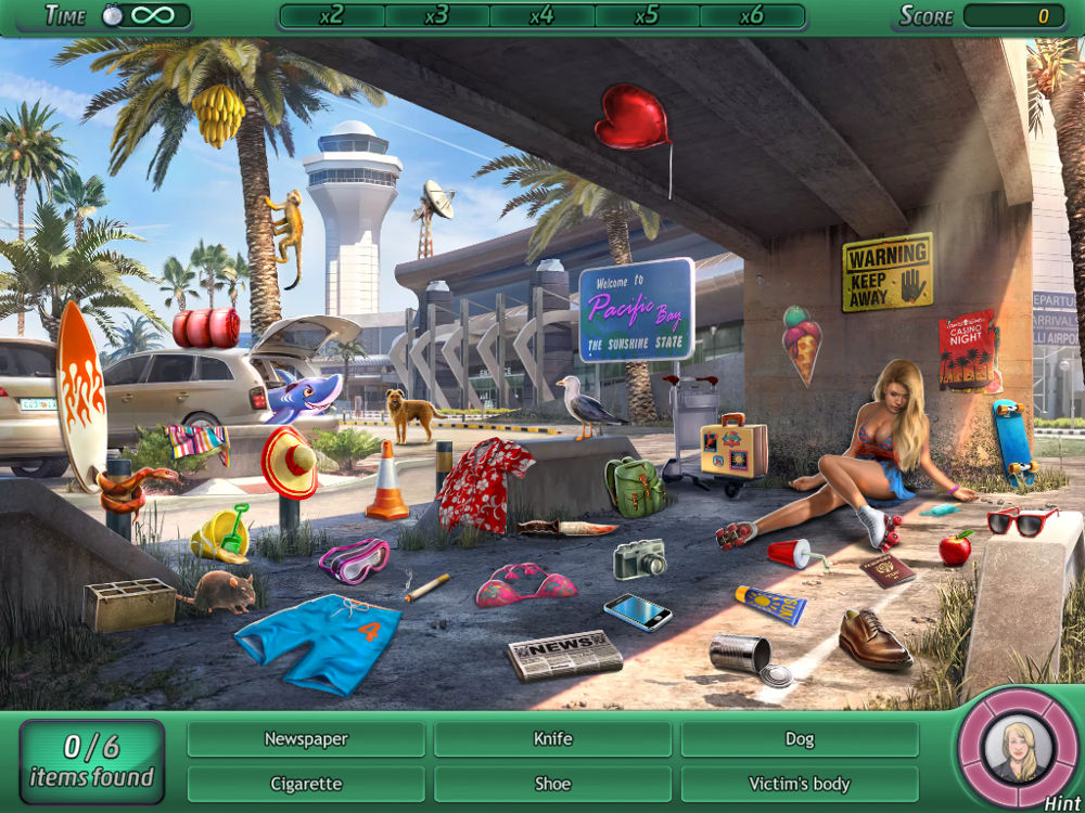 Screenshot af Criminal Case Pacific Bay