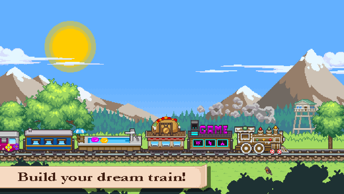 Screenshot af Tiny Rails