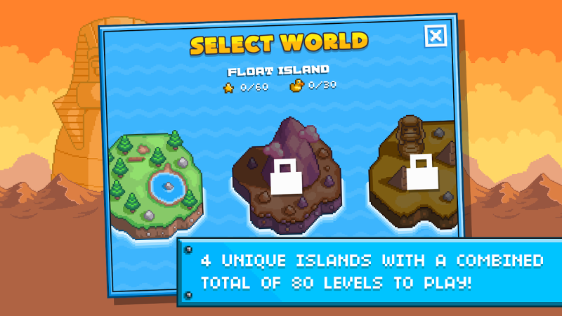 Screenshot af Gravity Duck Islands