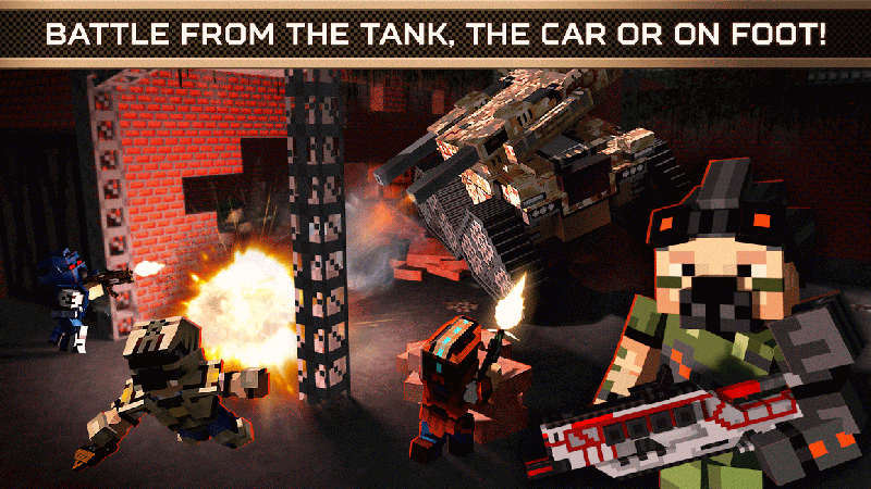 Screenshot af Blocky Cars