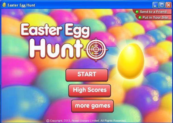 Screenshot af Easter Egg Hunt