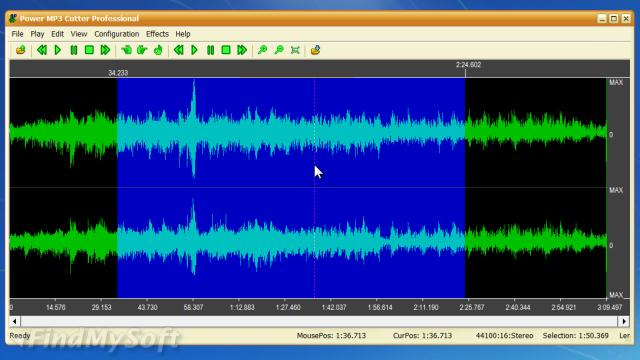 Screenshot af Power MP3 Cutter