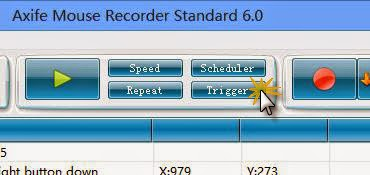 Screenshot af Axife Mouse Recorder