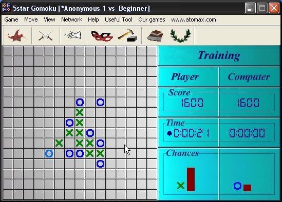 Screenshot af 5star Gomoku