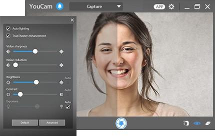 Screenshot af Cyberlink YouCam