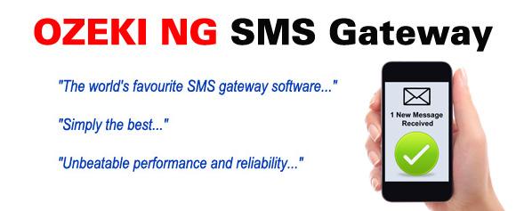 Screenshot af Ozeki NG SMS Gateway