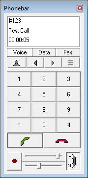Screenshot af PC-Telephone