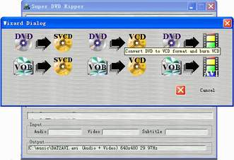 Screenshot af Super DVD Ripper