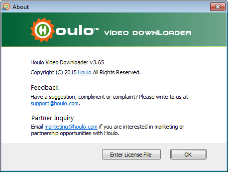 Screenshot af Houlo Video Downloader
