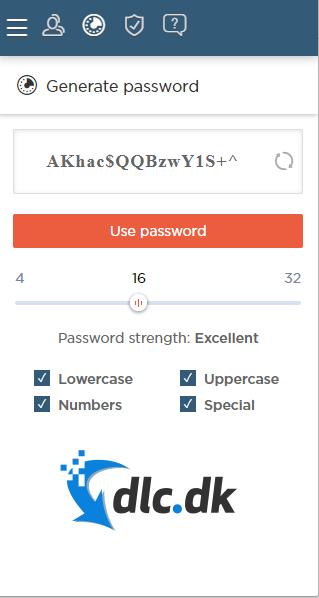 Screenshot af Saferpass