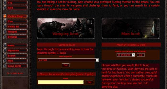 Screenshot af Bitefight