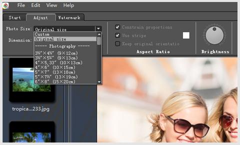 Screenshot af FotoGo til Mac