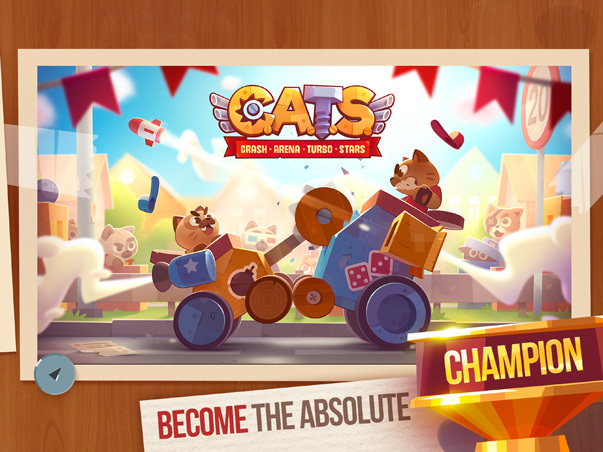 Screenshot af CATS: Crash Arena Turbo Stars
