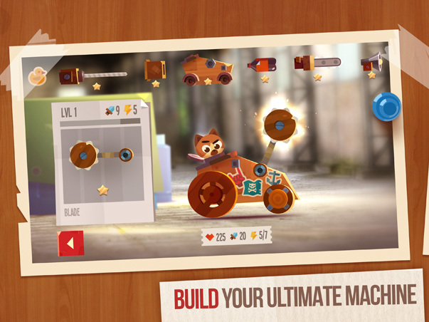 Screenshot af CATS: Crash Arena Turbo Stars