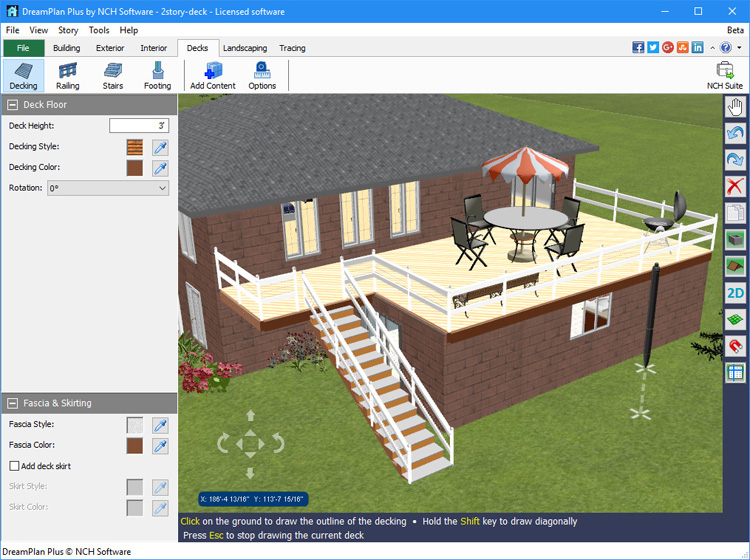 Screenshot Af DreamPlan Home Design Software