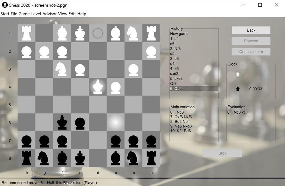 Screenshot af Chess 2020