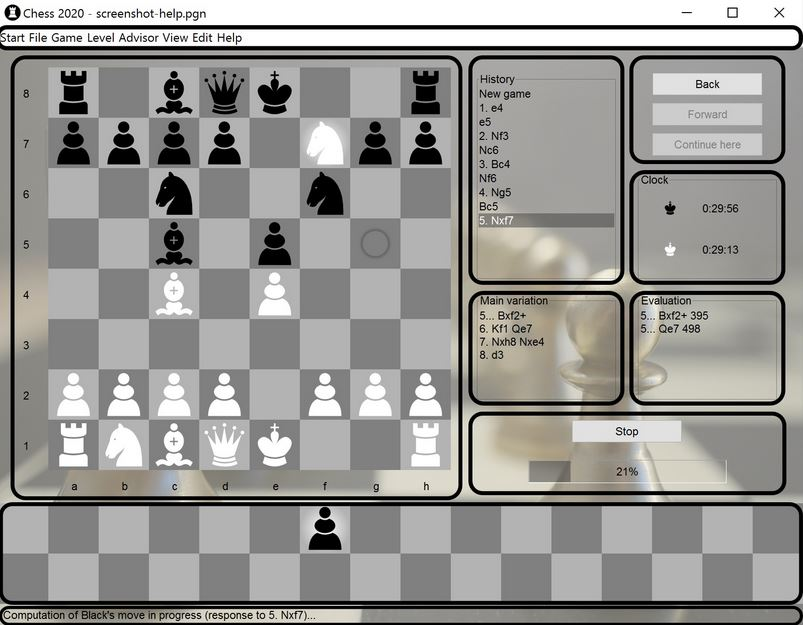 Screenshot af Chess 2020
