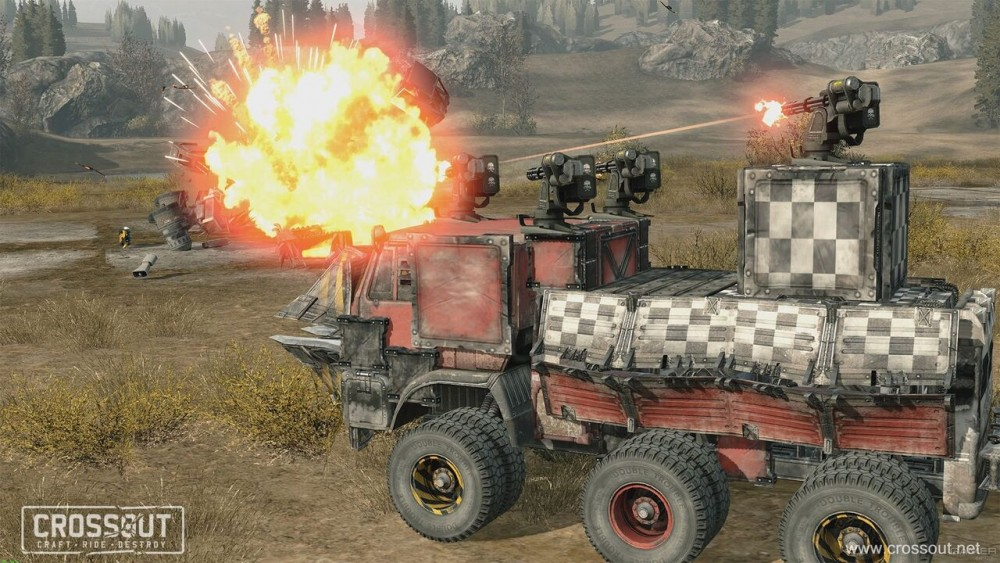 Screenshot af Crossout