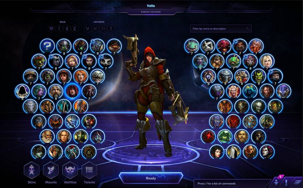 Screenshot af Heroes of the Storm