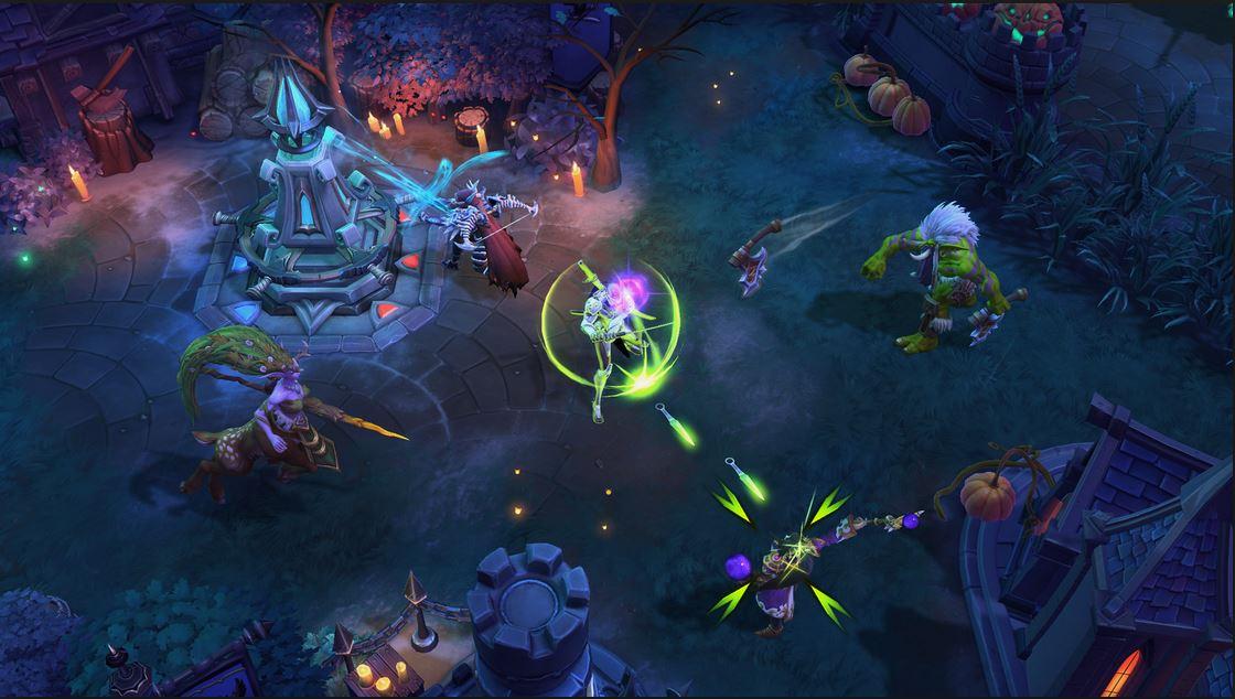 Screenshot af Heroes of the Storm