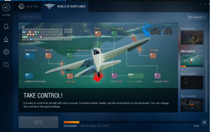 Screenshot af World of Warplanes