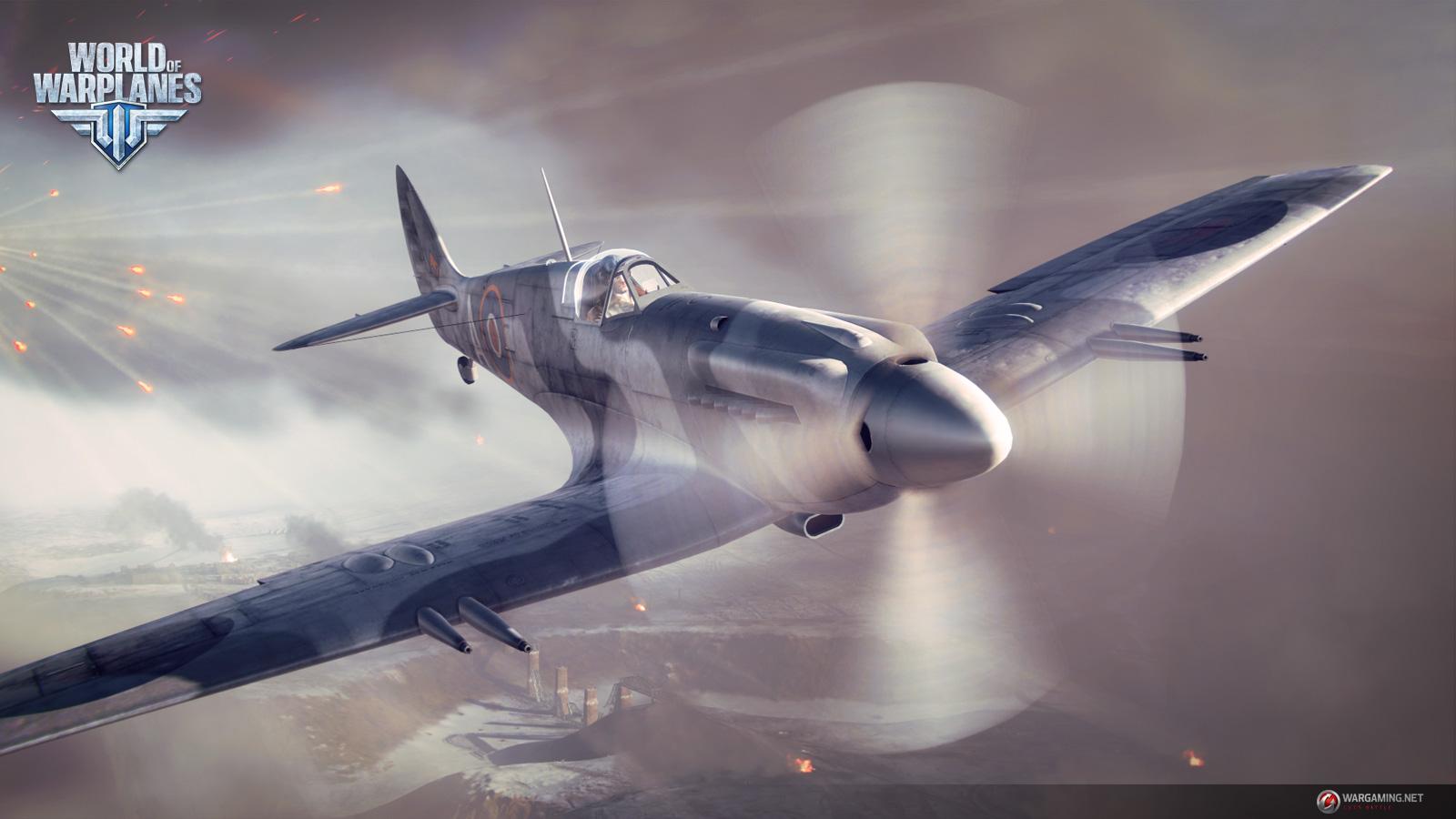 Screenshot af World of Warplanes