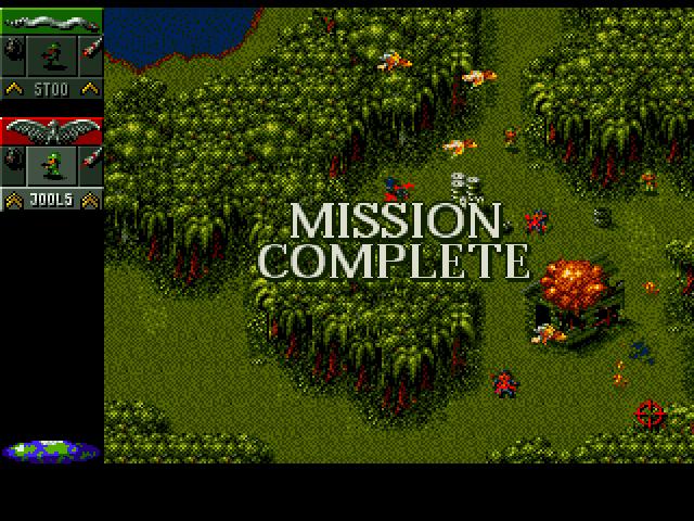 Screenshot af Cannon Fodder