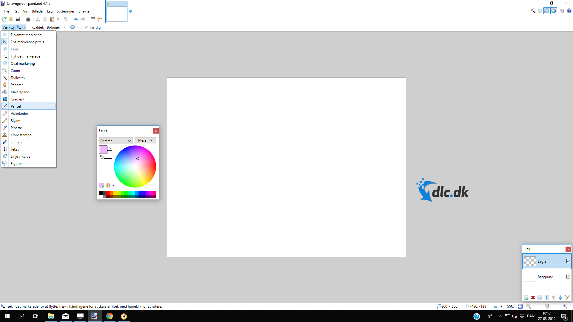 Screenshot af Paint.NET