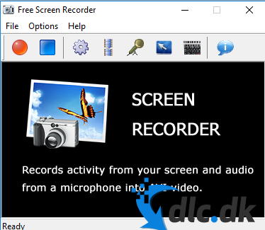 Screenshot af Free Screen Recorder