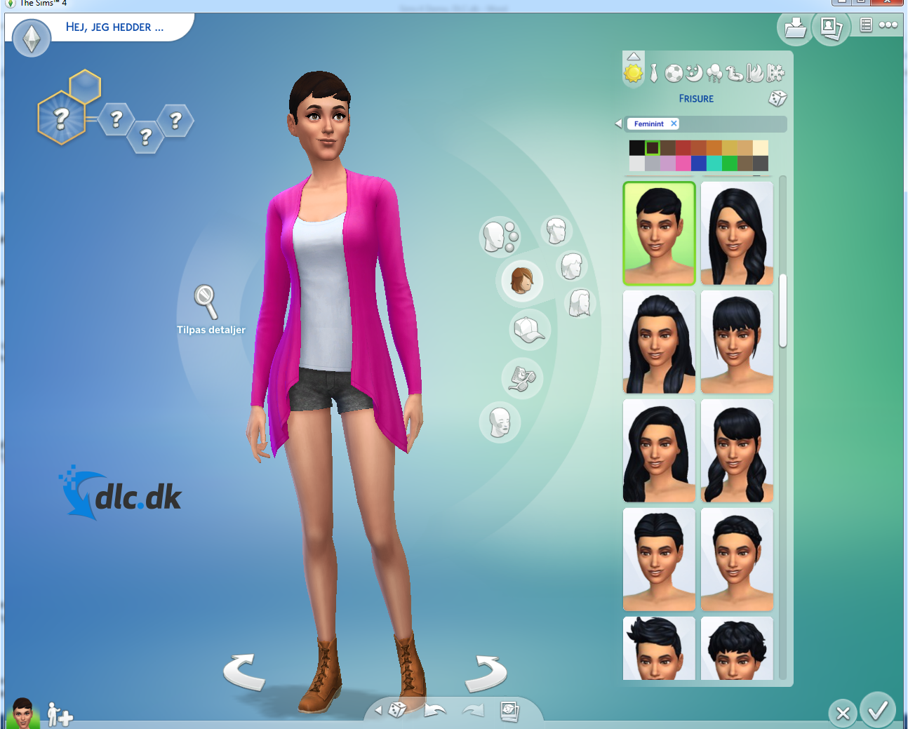 Screenshot af The Sims 4