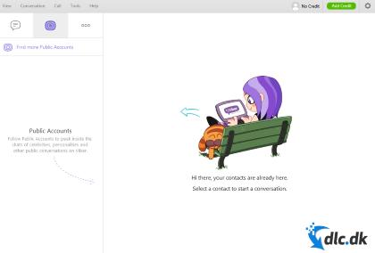 Screenshot af Viber