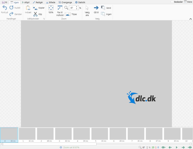 Screenshot af ScreenToGif