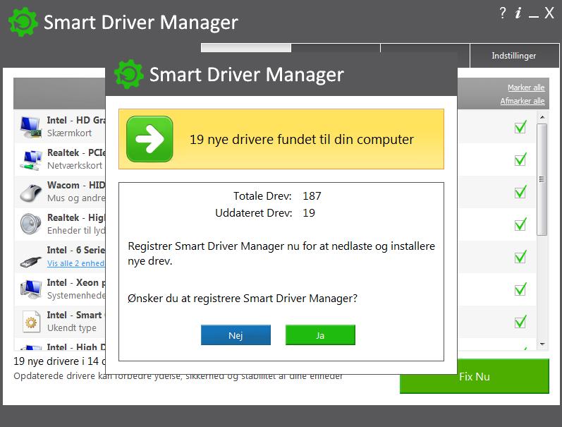 Screenshot af Smart Driver Updater