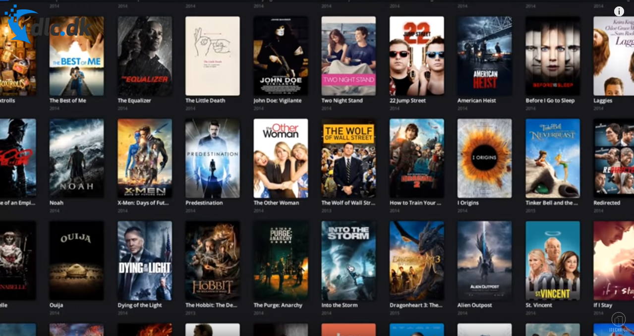 Screenshot af Popcorn Time